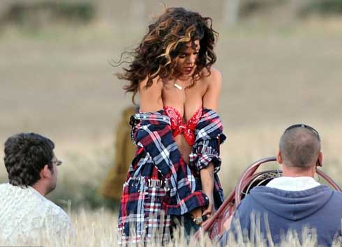 rihanna we found love video making 08