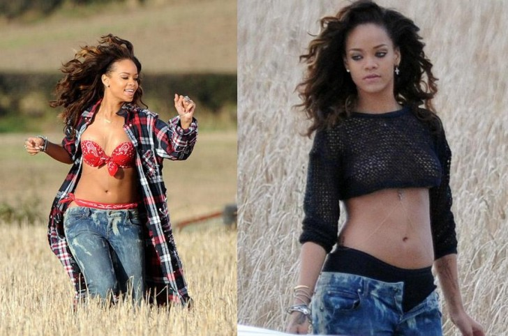 rihanna we found love video making 17