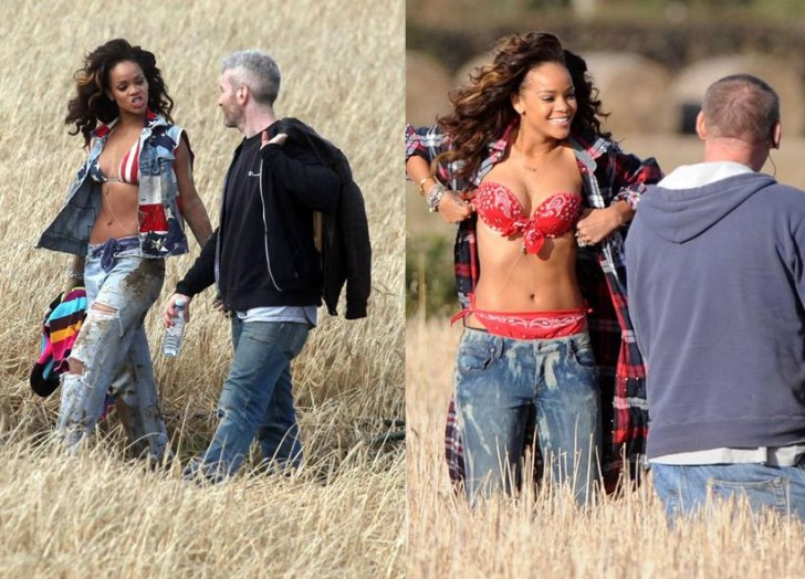 rihanna we found love video making 18