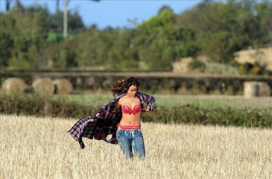 rihanna we found love video making 25
