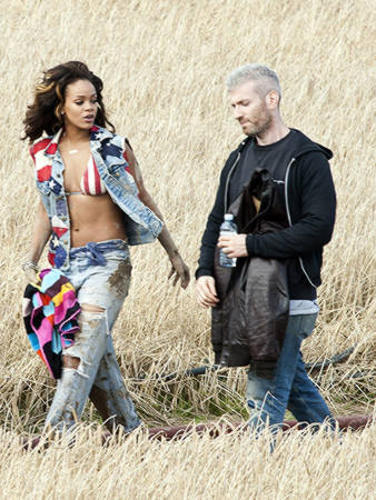 rihanna we found love video making 37