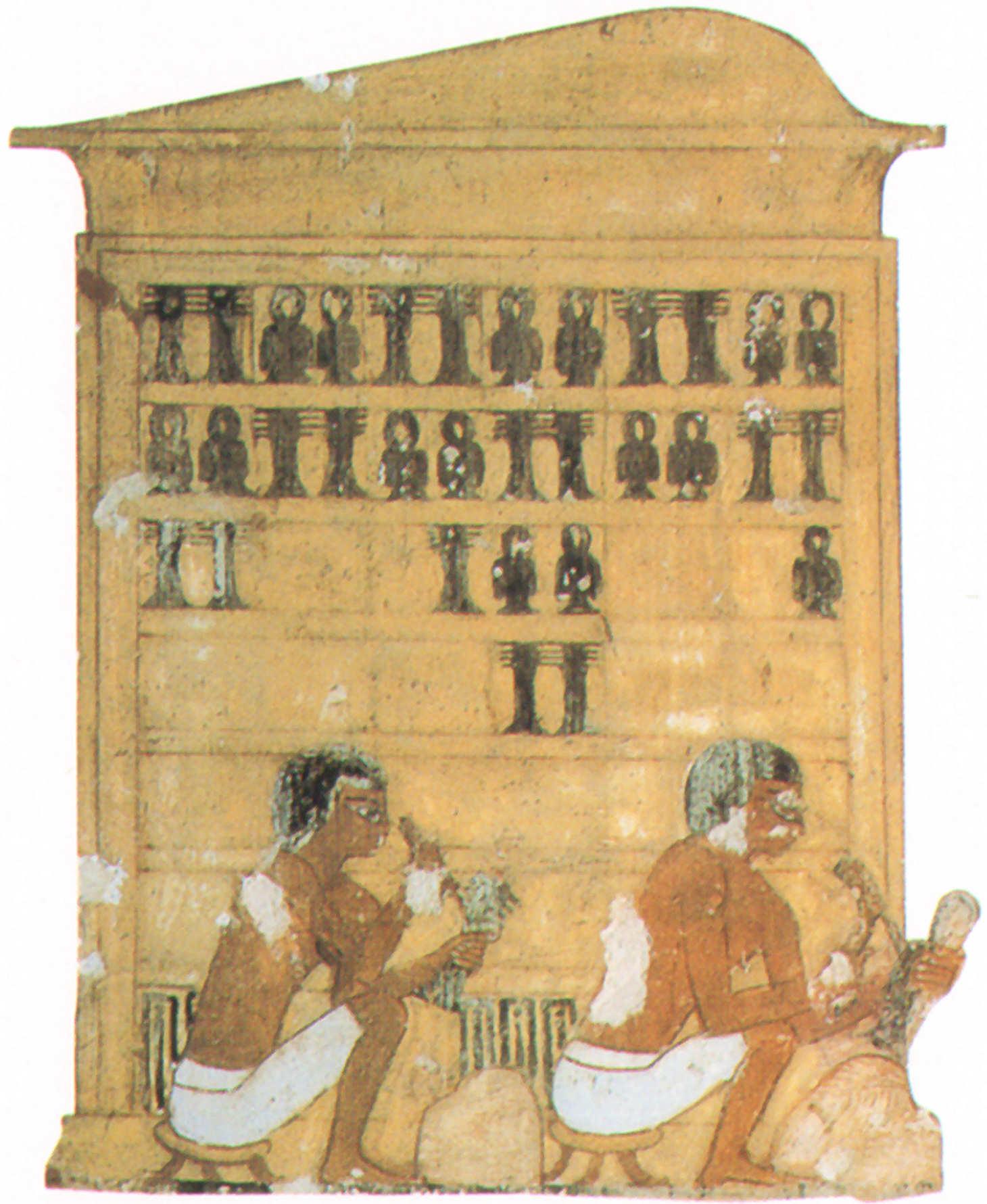 taller ebanisteria artesanos egipto