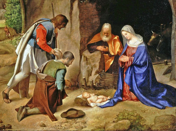 Adoracion magos Giorgio da Castelfranco
