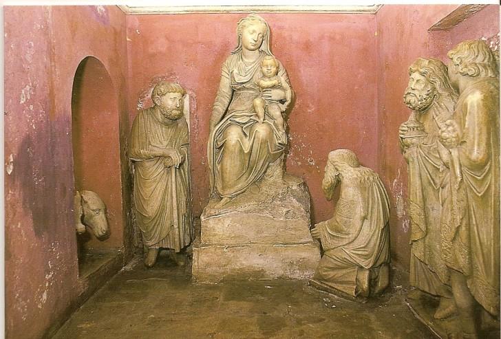 Arnolfo di Cambio belen figuras santa maria mayor