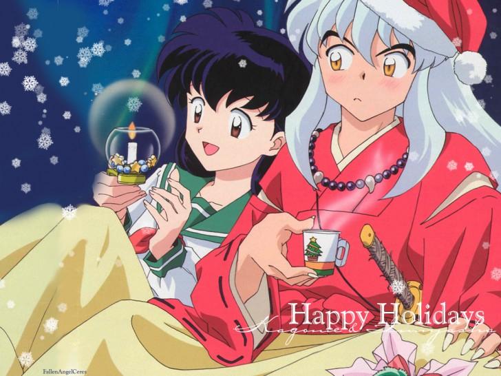 Christmas Inuyasha navidad anime