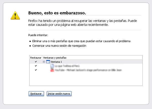 Tener menos de 20 pestanas abiertas en Firefox es de cobardes