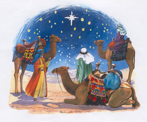 Tres Reyes Magos belen estrella