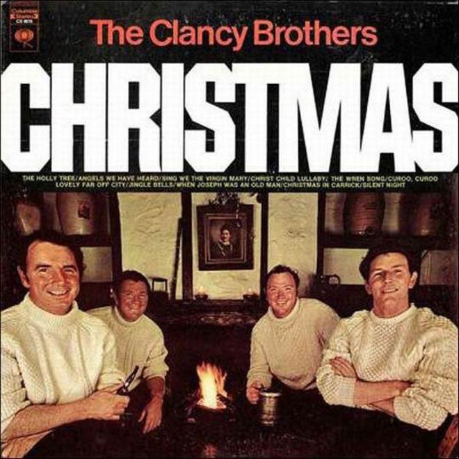 caratulas discos navidad humor Clancy Brothers christmas