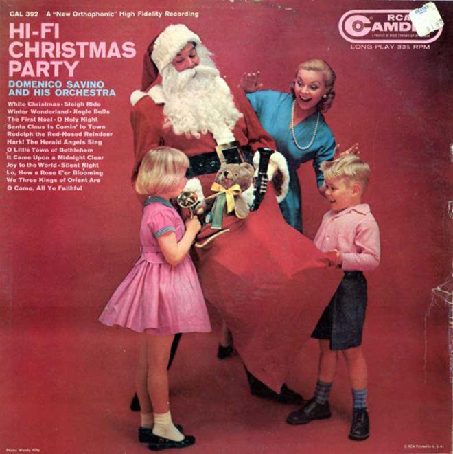 caratulas discos navidad humor Hi-Fi