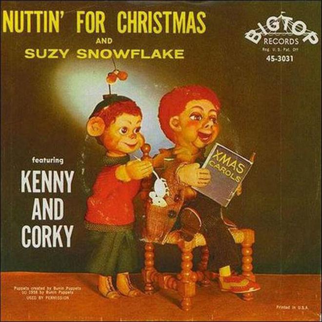 caratulas discos navidad humor Kenny Corky