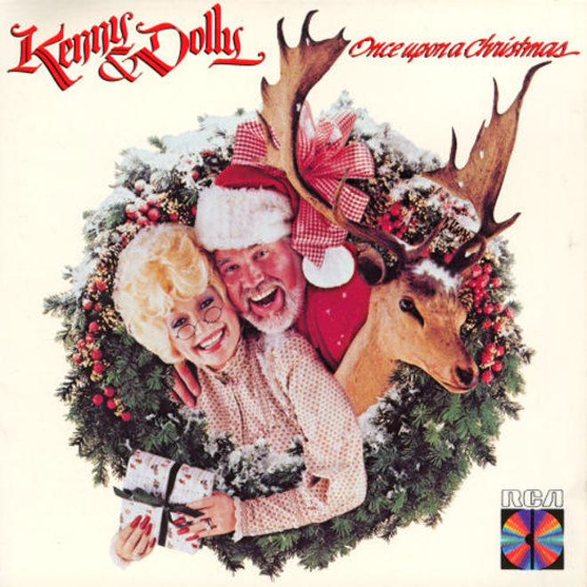 caratulas discos navidad humor Kenny Dolly christmas