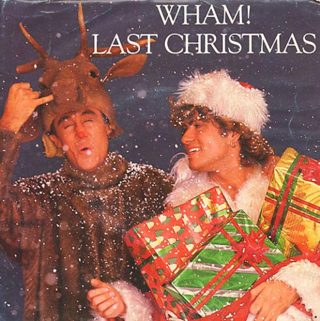caratulas discos navidad humor Last Christmas wham
