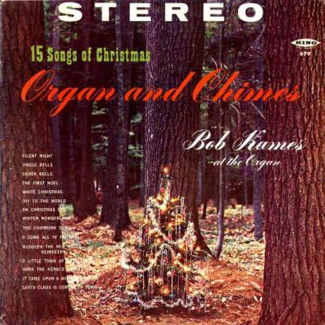 caratulas discos navidad humor Organs Chimes stereo