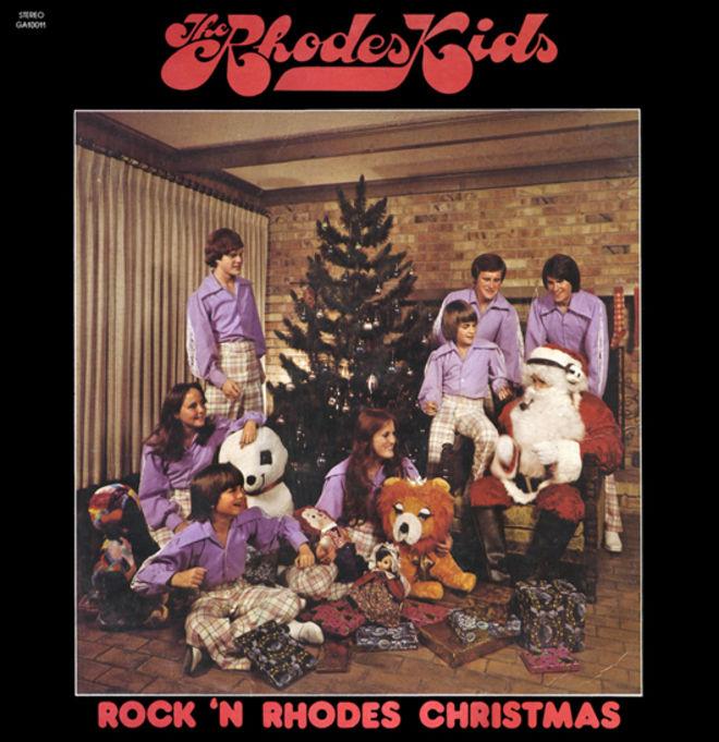 caratulas discos navidad humor Rhodes kids