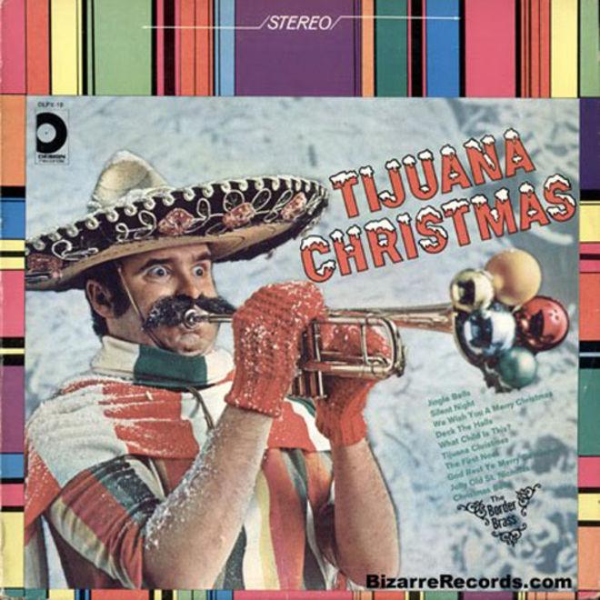 caratulas discos navidad humor Tijuana Christmas