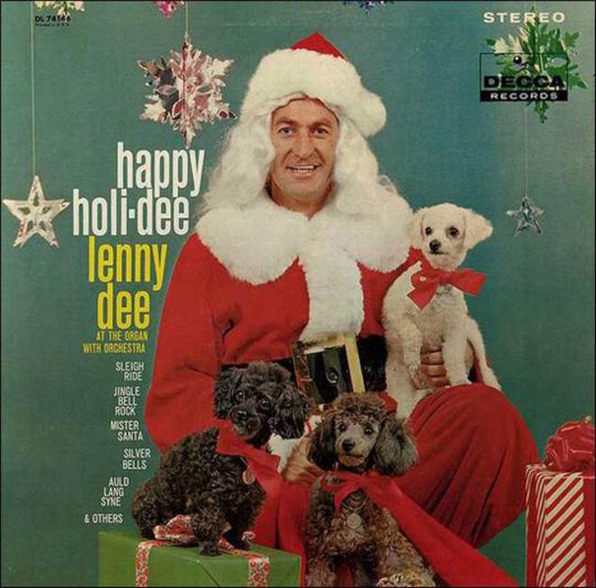 caratulas discos navidad humor happy holi dee Lenny dee