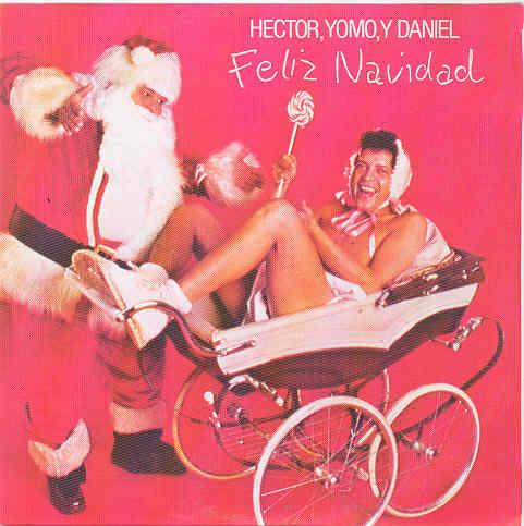 discos musica navidad humor Hector Yomo y Daniel 1974