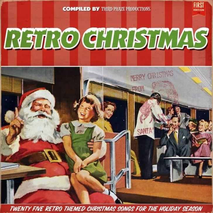 discos musica navidad humor retro christmas