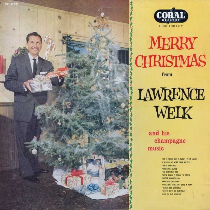 discos navidad portadas christmas laurence welk