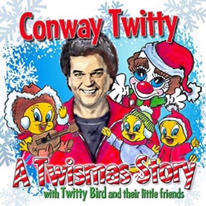 discos navidad portadas conway twitty