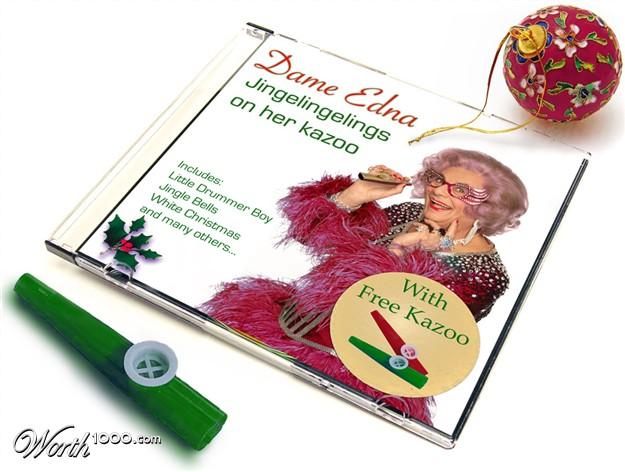 discos navidad portadas dame edna xmas