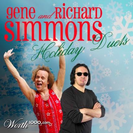 discos navidad portadas gene richard simmons
