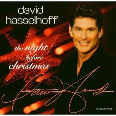 discos navidad portadas hasselhoff christmas