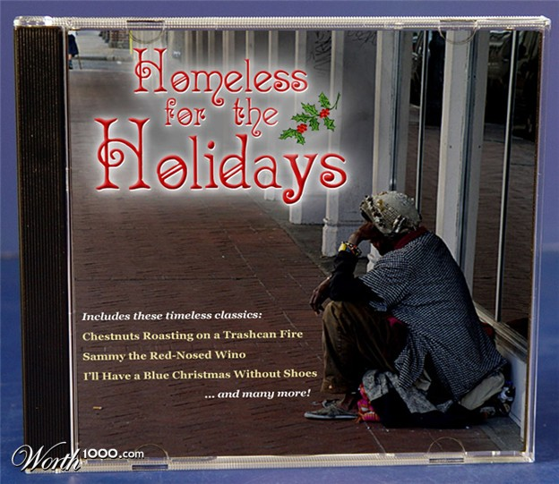 discos navidad portadas homeless for holidays