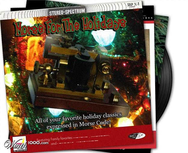 discos navidad portadas morse