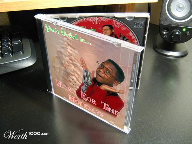 discos navidad portadas steve urkel holidays