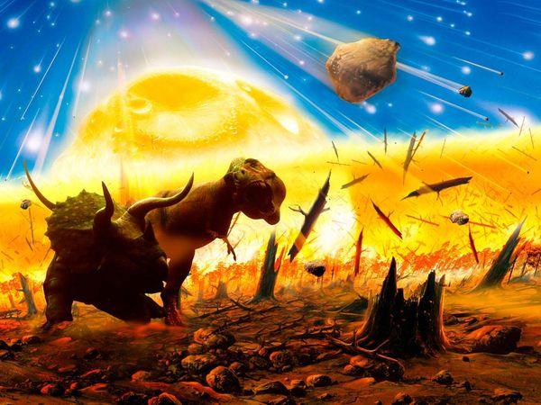 extincion masa dinosaurios