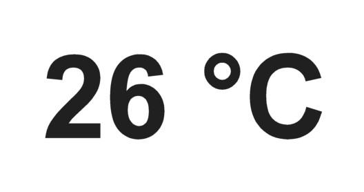 grados celsius forma escribir escritura simbolo