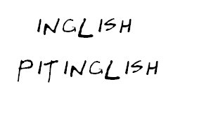inglish pitinglish