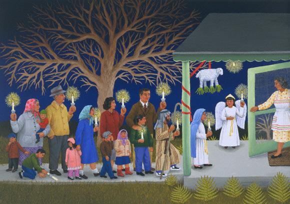 las posadas navidad fiesta jesus virgen maria