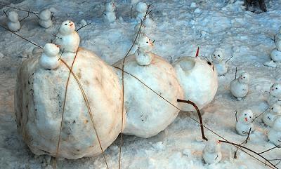 munecos nieve hijos