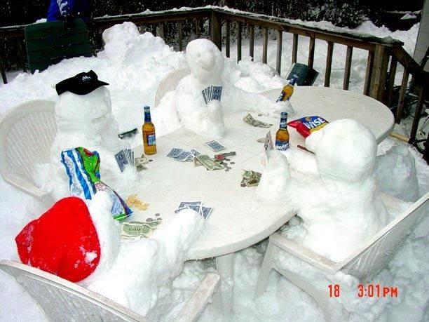munecos nieve timba