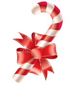navidad baston dulce caramelo palo