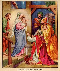 navidad visita reyes magos jesus
