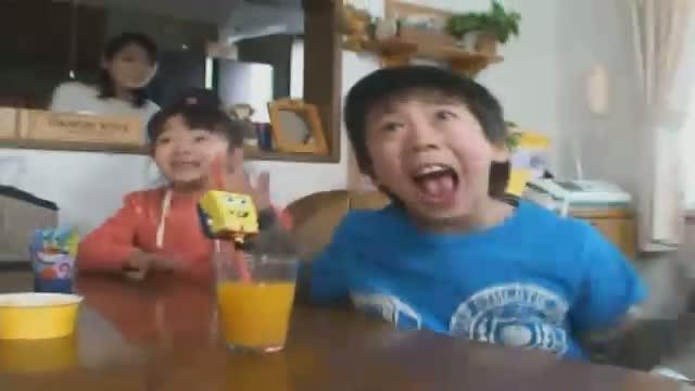 ninos japoneses bob esponja humor