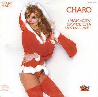 portadas discos navidad Charo Mamacita Donde Esta Santa Claus