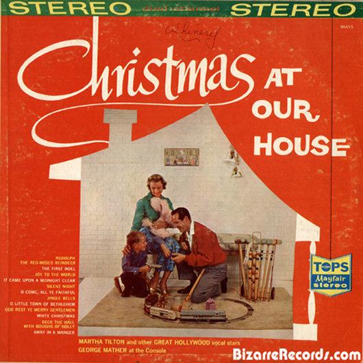 portadas discos navidad Christmas At Our House