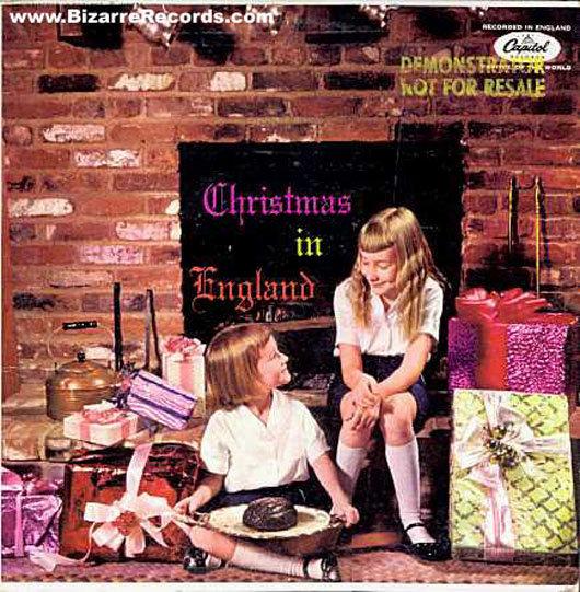 portadas discos navidad Christmas in England