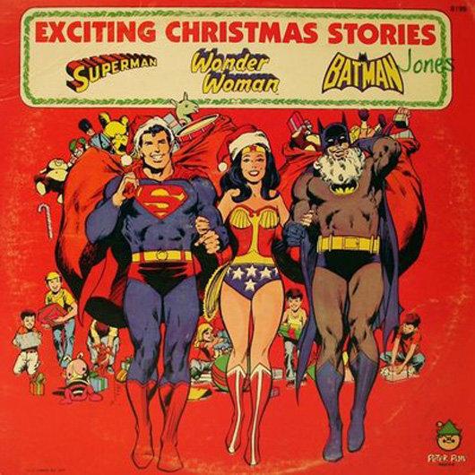 portadas discos navidad DC Superheroes