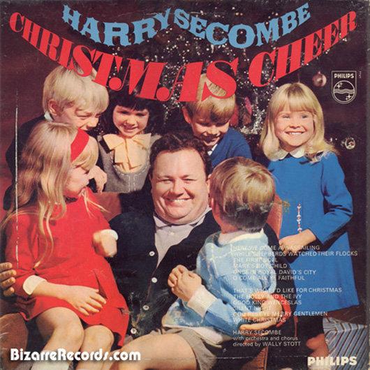 portadas discos navidad Harry Secombe