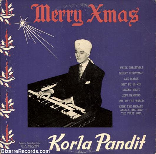portadas discos navidad Korla Pandit