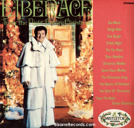 portadas discos navidad Liberace Xmas
