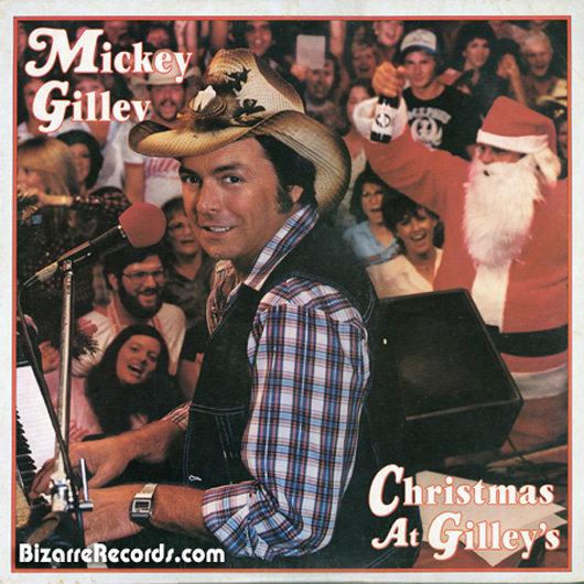 portadas discos navidad Mickey Gilley christmas