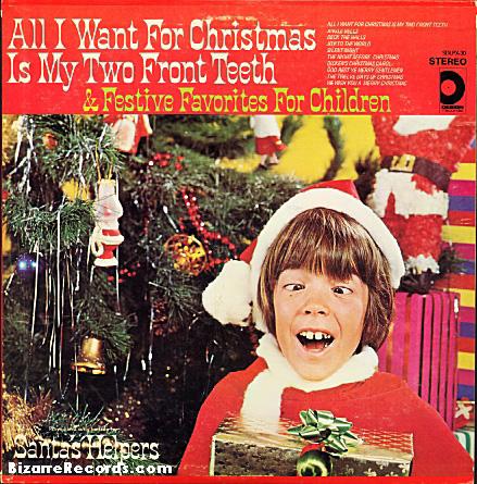 portadas discos navidad Santas Front teeth