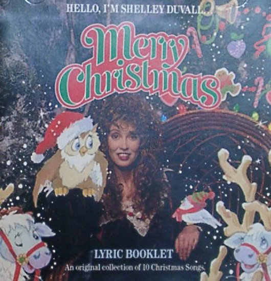 portadas discos navidad Shelley Duvall