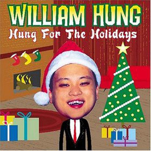 portadas discos navidad William Hung